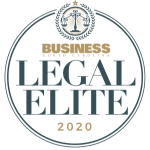 Business Legal Elite 2020 Badge